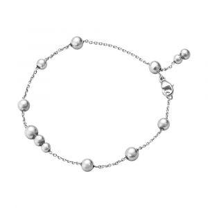 Georg Jensen - Moonlight Grapes armbånd i sølv. Detteer en nyfortolkning af det klassiske Georg Jensen design, med et moderne twist.Længden er justerbar. 10014405.