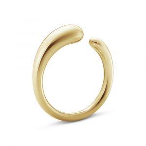 Georg Jensen - Mercy mini ring i 18 karat guld. Ringen har en smuk organisk form. 2000001300.