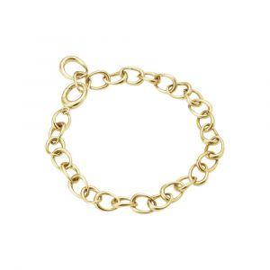 Georg Jensen - Offspring Link armbånd i 18 karat guld. Det elegante armbånd er fremstillet med en række af små ovale sammensatte led. Bredde: 6,7 mm. 20000992.