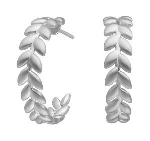 Season Hoops øreringe i sølv (4-3502-R)