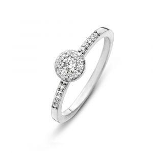 Spirit Icons - Luxury ring i sølv med zirkonia, 53481