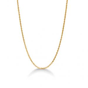Anker halskæde 14kt guld (952000)