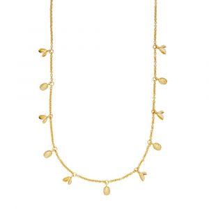 Anna Briand x Sistie halskæde i forgyldt sølv (z2021gs)