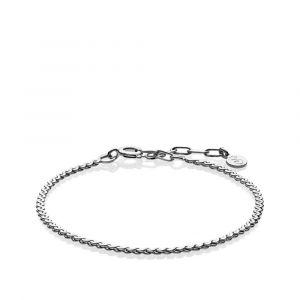 Sistie - Molly armbånd i rhodineret sølv. z3022sws.