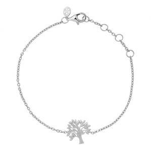 by Biehl Tree of Life sølv armbånd, 2-2501-R