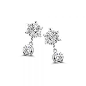 Spirit Icons - Twinkle ørestikker i sølv med zirkonia, 41241