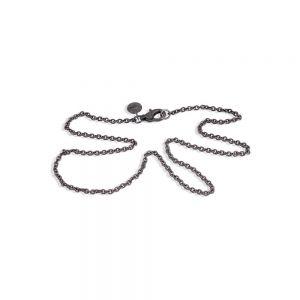 By Birdie - Nottingham halskæde i 925 sterling sølv. Kæden har en længde på 45 cm. 505011B45.