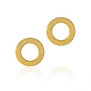 Dulong Anello øreringe i 18 karat guld, formet som en cirkel. ANE1-A1050