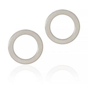 Dulong - Anello øreringe i sølv, Stor