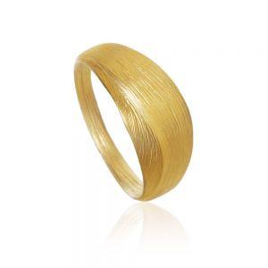 Dulong Aura lille ring i 18 karat guld