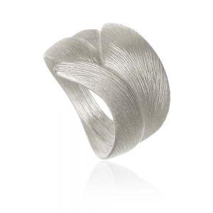 Dulong Aura Stor ring i sølv