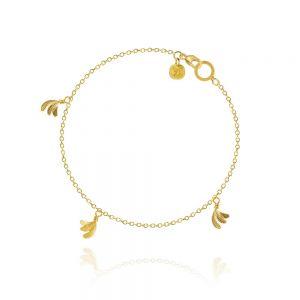 Dulong Aura Piccolo armbånd i 18 karat guld