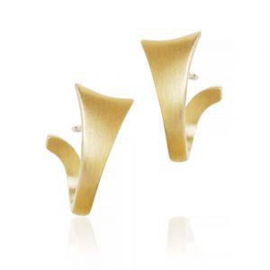 Dulong Luna øreringe i 18 karat guld
