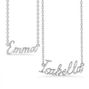 Mads Z - Navnekæde i sølv. Køb en navnehalskæde til dig selv, eller til en du holder af.Vi har halskæder med de 50 mest populære navne. 8120.