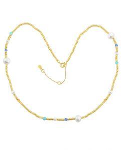 Isabella - Forgyldt Sølv - Perler