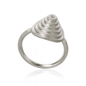 Dulong Thera Twist sølv ring